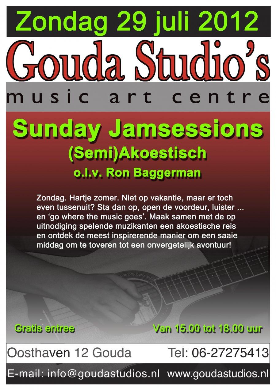 Ak Jam 29 Juli 2012 Gouda Studios o.l.v. Ron B